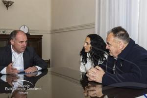 Reunión de AECRosario con Jorge Gen