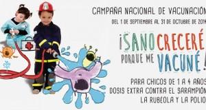Campaña nacional 2014 Saramp rub y polio