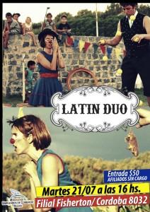 latin duo fisherton afiche